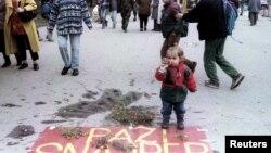 Centar Sarajeva, 2. novembar 1995.