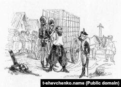 Т. Г. Шевченко. Суворов відправляє Пугачова до Москви [1841, кінець – 1842, початок. С.-Петербург]