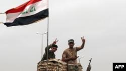 نیروهای عراقی در بخش غربی موصل (عکس از آرشیو)