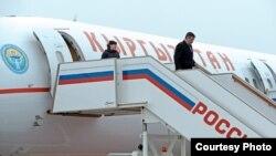 Ղրղըզստանի նախագահը ժամանում է Մոսկվա, 29-ը նոյեմբերի, 2017թ․