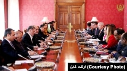 President Ashraf Ghani met with a top-level UN Security Council delegation on January 15.
