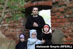 Александр Оршулевич с детьми до ареста