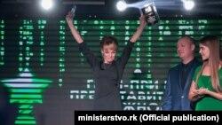 Катерина Козир – генеральний директор телерадіокомпанії «Крым», володар гран-прі конкурсу «Журналіст року-2016»