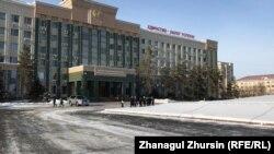 Ақтөбедегі Назарбаев даңғылы.
