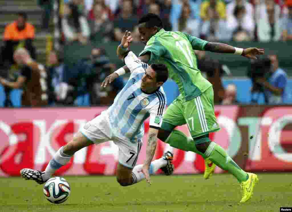 Дар даври сеюм ва ниҳоии мусобиқоти гурӯҳӣ Аргентина Нигерияро бо ҳисоби 3:2 шикаст дод.