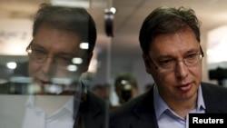 Сербия премьері Александр Вучич.