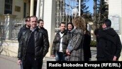 Студенти од Универзитетот во Битола.