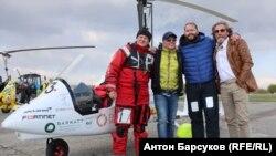 Участники кругосветного путешествия в Новосибирске