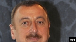 Azerbaijani President Ilham Aliyev's second term would expire in 2013.
