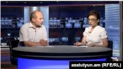 Քաղաքագետ Ստեփան Սաֆարյանը «Ազատություն TV»-ի տաղավարում, 21-ը հուլիսի, 2015թ