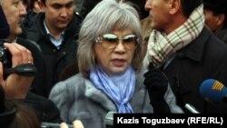 """Главный редактор сайта """"Гульжан.орг"""" Гульжан Ергалиева. Алматы, 6 января 2012 года."""