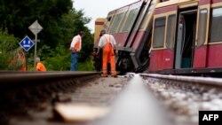 Авария на железной дороге. Иллюстративное фото.