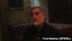عبدالله عبدالله، وزیر امور خارجه پیشین افغانستان