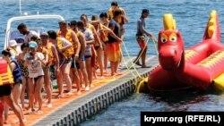 Курортный сезон в Гурзуфе, июль 2020 года