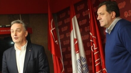 Zlatko Lagumdžija i Milorad Dodik, ilustrativna fotografija