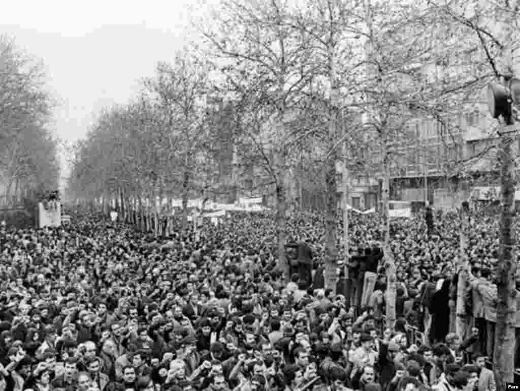 Teheran, protesti protiv Šaha Mohameda Reze Pahlavija, 1979.