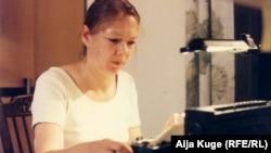 Айя Куге за работой, Белград, архивное фото
