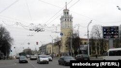 Савецкая вуліца ў Гомелі