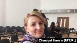 Психолог Ирина Украинцева. Актобе, 2 марта 2018 года.