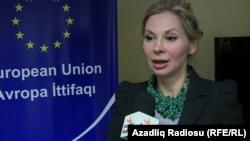 Глава представительства Евросоюзав Баку Малена Мард