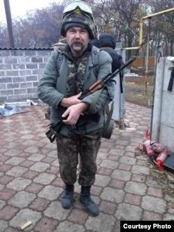 Медик 95-ї бригади Сергій Архангельський з позивним «Наркоз»