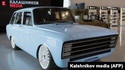 """Проект российского электромобиля, разрабатываемого концерном """"Калашников"""""""