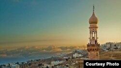 Minare e një xhamie në Jordani.