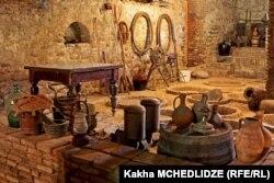 Старинный винный подвал в Кахетии