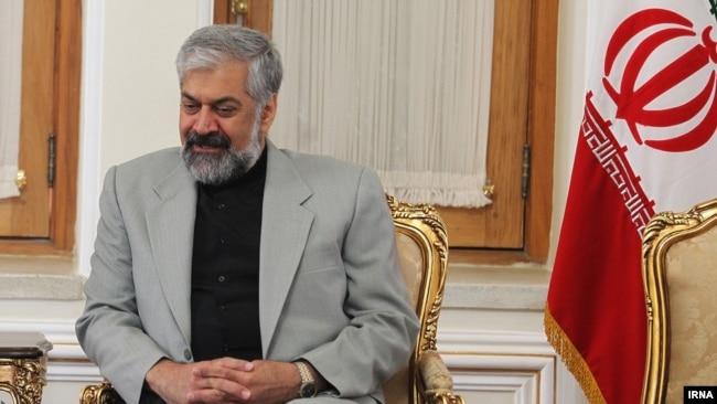 Iran's First Deputy Foreign Minister Morteza Sarmadi , undated