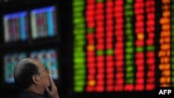 Индекс Шанхайской фондовой биржи упал до уровня декабря 2008 года