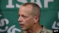 U.S. General John Allen, commander of the NATO-led force in Afghanistan, issued the apology.