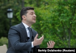 Zelenskiy still faces many of the same problems a year later.