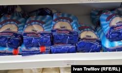 Сахар в московском магазине
