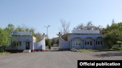 Жалал-Абаддын курортундагы санаторий. Архивдик сүрөт.