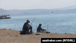 Каспий теңізінің Түркіменстанға қарасты тұсы.