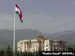 Флягшток у Таджыкістане