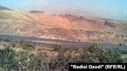 Таджикско-афганская граница в Дарвазе