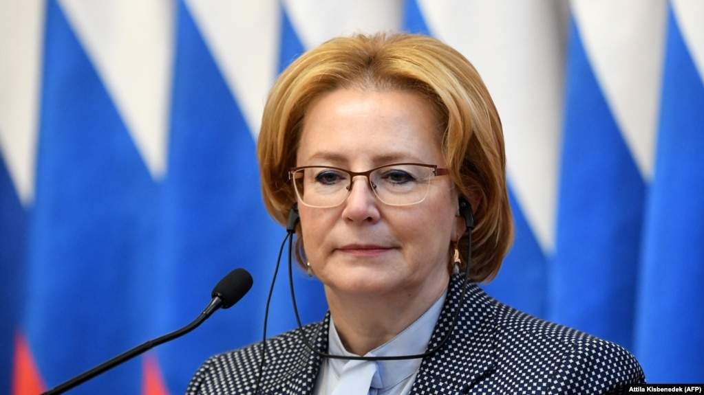 Russian Health Minister Veronika Skvortsova (file photo)