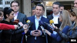 Архивска фотографија: Премиерот Никола Груевски.