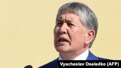 Qirg'iziston prezidenti Almazbek Atambaev.