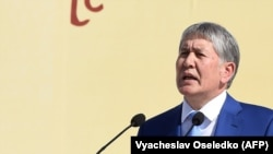 Kyrgyz President Almazbek Atambaev is constitutionally barred from running for a second term, though critics fear he is trying to continue in power.