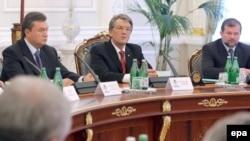 Совет национальной безопасности Украины поддержал указ Ющенко о роспуске парламента