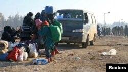 Evakuaicija iz Aleppa