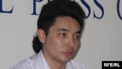 Ұлан Шамшет, азаматтық қоғам белсендісі. Алматы, 6 сәуір 2010 жыл