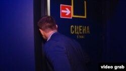 Журналіст Радіо Свобода Григорій Жигалов у Театрі на Подолі