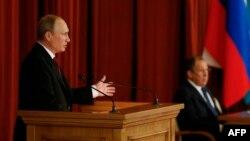 Выступление Владимира Путина на совещании с российским дипломатическим корпусом