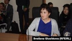 Юрист Астанинского правого медиацентра Гульмира Биржанова.