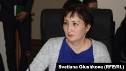 """Гүлмира Біржанова, """"Құқықтық медиа-орталық"""" қоғамдық қорының заңгері."""