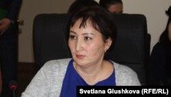 Юрист Гульмира Биржанова.