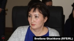 Юрист астанинского правового медиацентра Гульмира Биржанова. Астана, 18 января 2016 года.